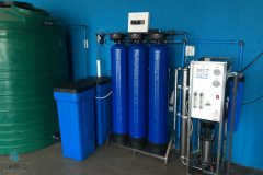 600LPH-Reverse-Osmosis-Unit-With-Pre-Filtration-And-Water-Softening