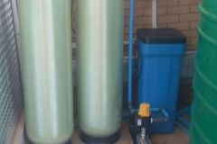 Activated-Carbon-And-Water-Softening-Vessels-With-Salt-Brine-Pump-And-Storage-Tank