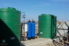 Media-Filtration-Vessel-With-Clean-Water-And-RAW-Water-Storage-Tanks