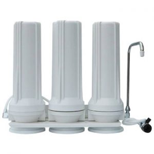 three stage countertop water purifier