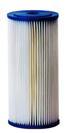 reusable pleated water filter