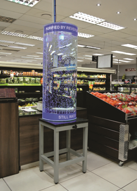 water display tank