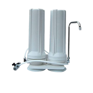 two stage counter top home water filter