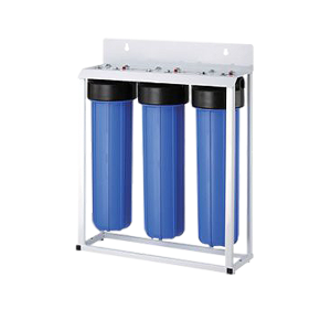 whole house home water purification system triple big blule